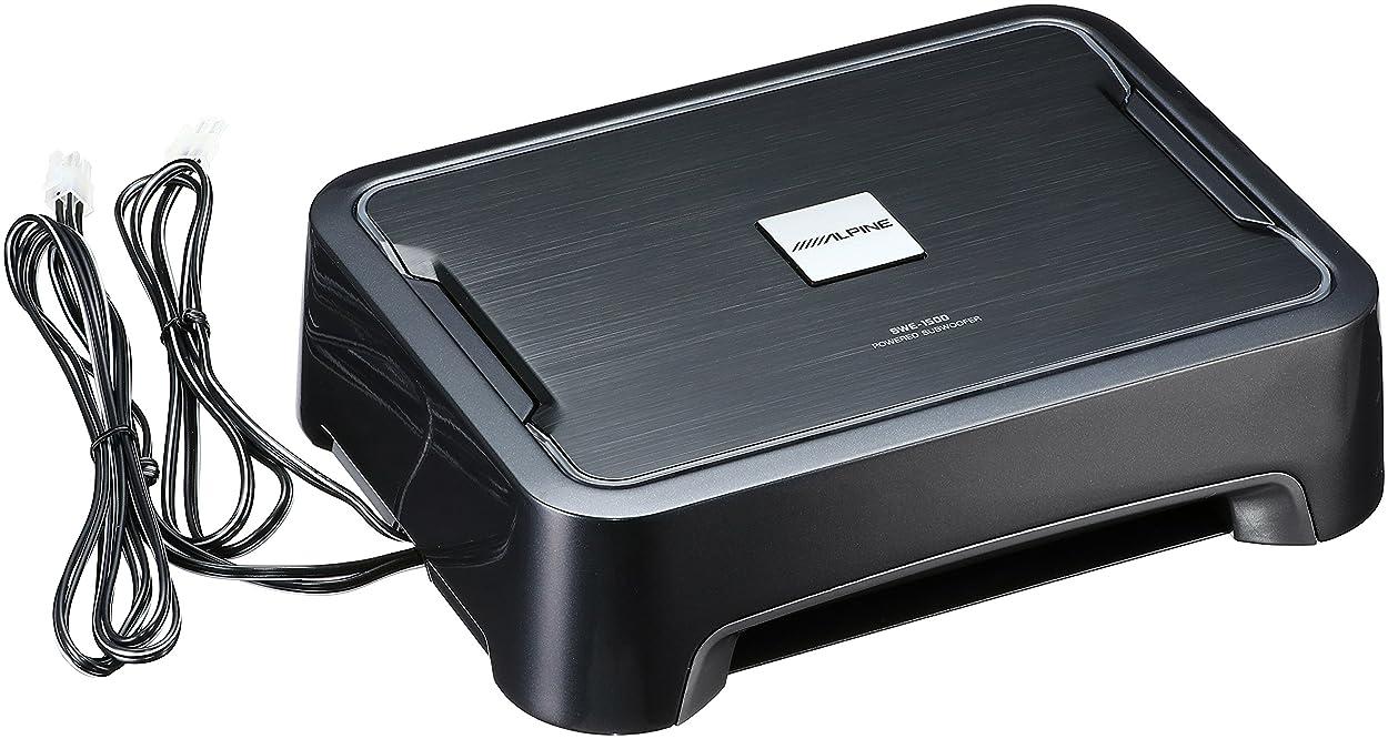 雪だるまアーカイブママμ-Dimension(ミューディメンション)10inch(25cm)薄型チューンナップサブウーファー(アンプ内蔵) Black Box X10