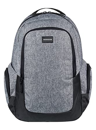 16f057808d30 Amazon.com: Quiksilver Schoolie Backpack One Size Light Grey Heather:  Clothing