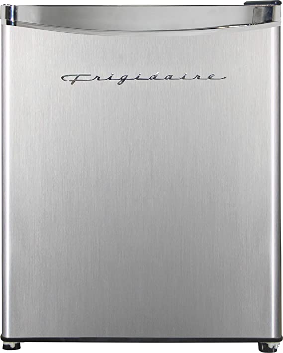 Frigidaire EFR182 1.6 cu ft Stainless Steel Mini Fridge