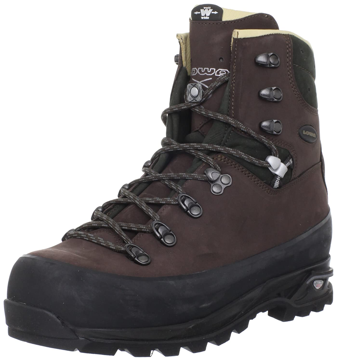f723306e8a1 Lowa Men's Baffin Pro Backpacking Boot,Chestnut/Anthracite,10 M US ...