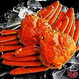 【ギフト対応】 最高級 天然ズワイガニ姿 大サイズ 蟹味噌たっぷりの厳選された本ずわいがに 贈答用にも最適 【約600g×2尾】