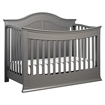 davinci meadow 4in1 convertible crib with toddler bed conversion kit slate - Crib Conversion Kit