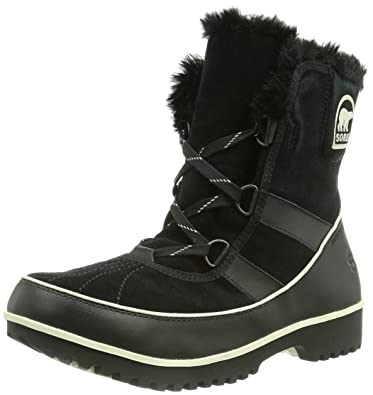 SOREL Tivoli II Suede Boot  Womens Black 5