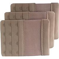 e3850d1b2e Chanie Women Pack of 3 Soft Comfortable 4 Hooks Bra Extender