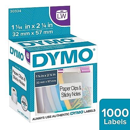 DYMO 30334 etiqueta de impresora Blanco - Etiquetas de impresora ...