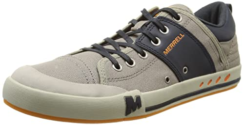 Merrell Rant, Men's Trainers, Multicolour (Aluminium/Navy), 6.5 UK (