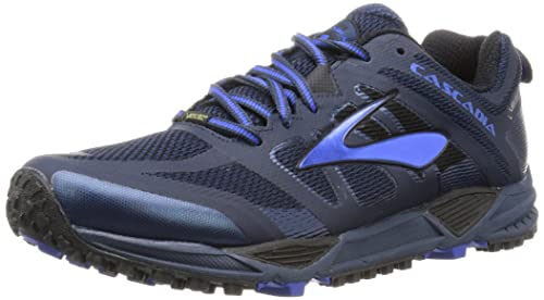 072554fd122 Brooks Men s s Cascadia 11 GTX Running Shoes Multicolor  (Dressblues electricbrooksblue Black) 7