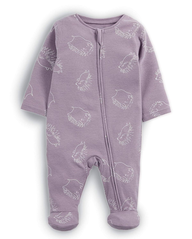 Mamas & Papas Hedgehog Print Zip All In One, Pelele para Bebés Mamas and Papas