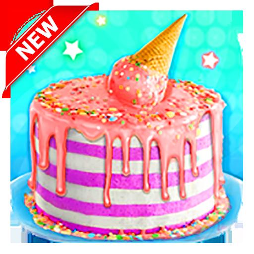 (Sweet Trendy Desserts - Ice Cream Cone Cake Game)