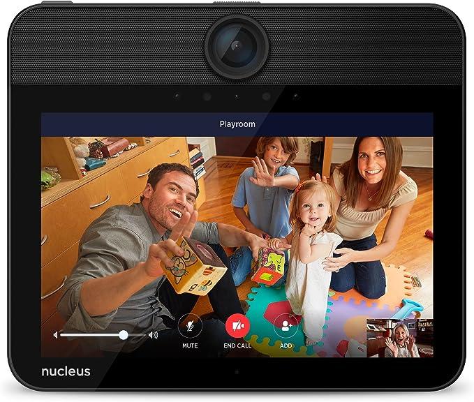 Nucleus Anywhere Intercom Alexa Door Entry N1001R31B Single Home Security Black