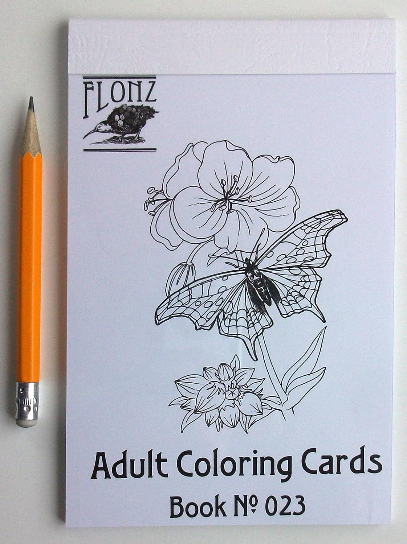 Loisirs Creatifs Livre De Coloriage Pour Adultes Buttefly Et De Fleurs Motif Vintage Pour Coloriage Pour Adultes 24 Cartes 10 2 X 16 5 Cm Cuisine Maison Hotelaomori Co Jp