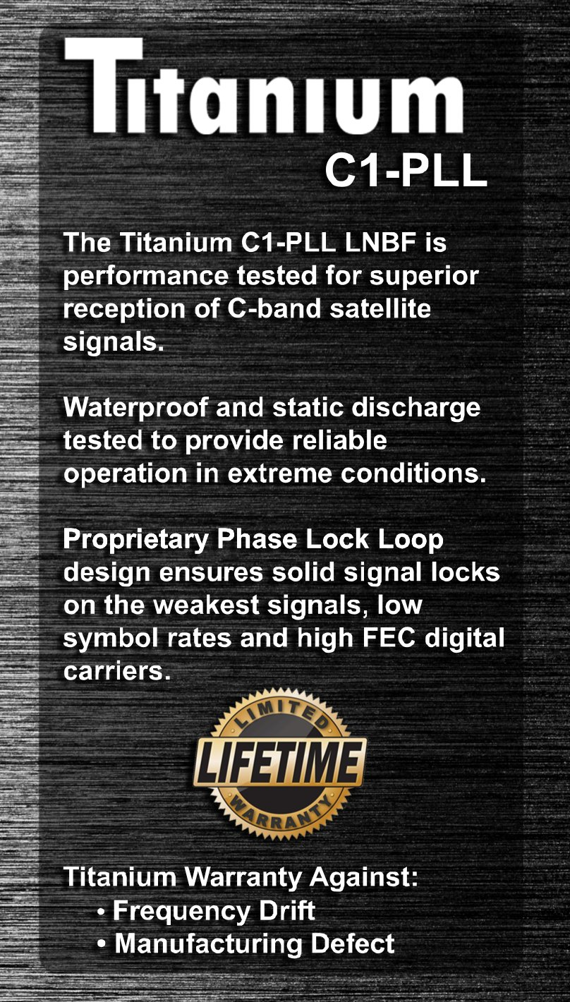 C1 Pll C Band Lnbf Wimax 4g Lte Wifi Filter Single Supply Phase Locked Loop Lock Electronics