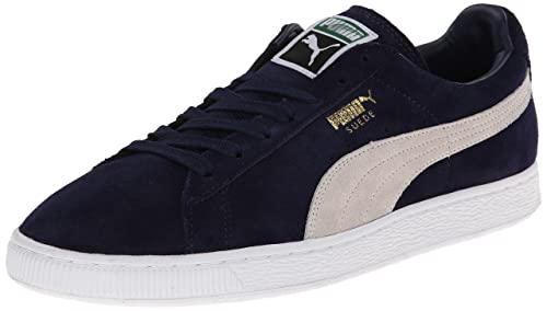 11a9f65d74d4 Puma Suede Classic+ Unisex Adults  Low-Top Sneakers Blue Size  3 UK