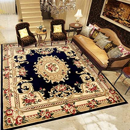 Area Rugs Square Rug Continental Living Room Coffee Table Carpet Bedroom Bedside Blanket Home Dining