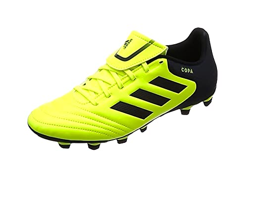 check out 01a97 a25d4 adidas Copa 17.4 FxG, Zapatillas de Fútbol para Hombre, (Solar Yellow  Legend Ink