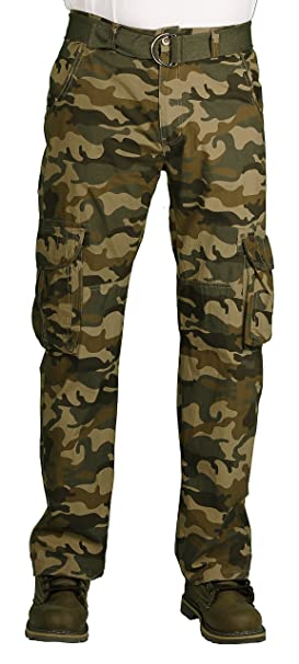 f5bf3a6059 Camp & Campus Young Men's Rustic Cargo Pant at Amazon Men's Clothing ...