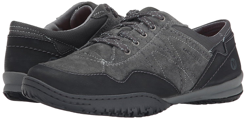 Merrell Albany Lace - Zapatillas de Cuero para Mujer, Color Gris - Granite, Talla 38 EU