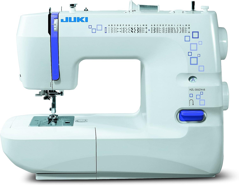 JUKI hzl-355zw máquina de Coser mecánico Metal/PVC Blanco 41x 17,7x 30,8cm