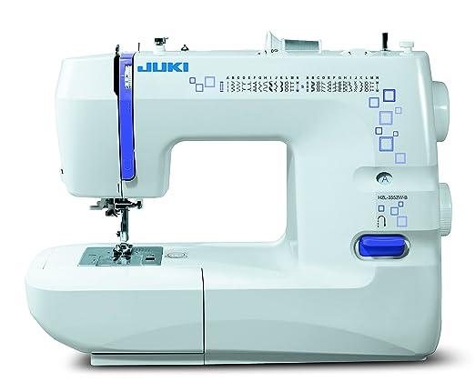 JUKI hzl-355zw máquina de Coser mecánico Metal/PVC Blanco 41 x 17 ...