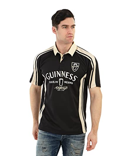 406a8118bd3 Amazon.com : Arthur Guinness Signature Performance Rugby Jersey (Large) :  Clothing