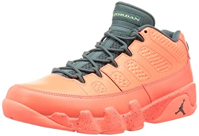 Men's Nike Air Jordan 9 IX Low Bright Mango Hasta Sneakers : T38f1881