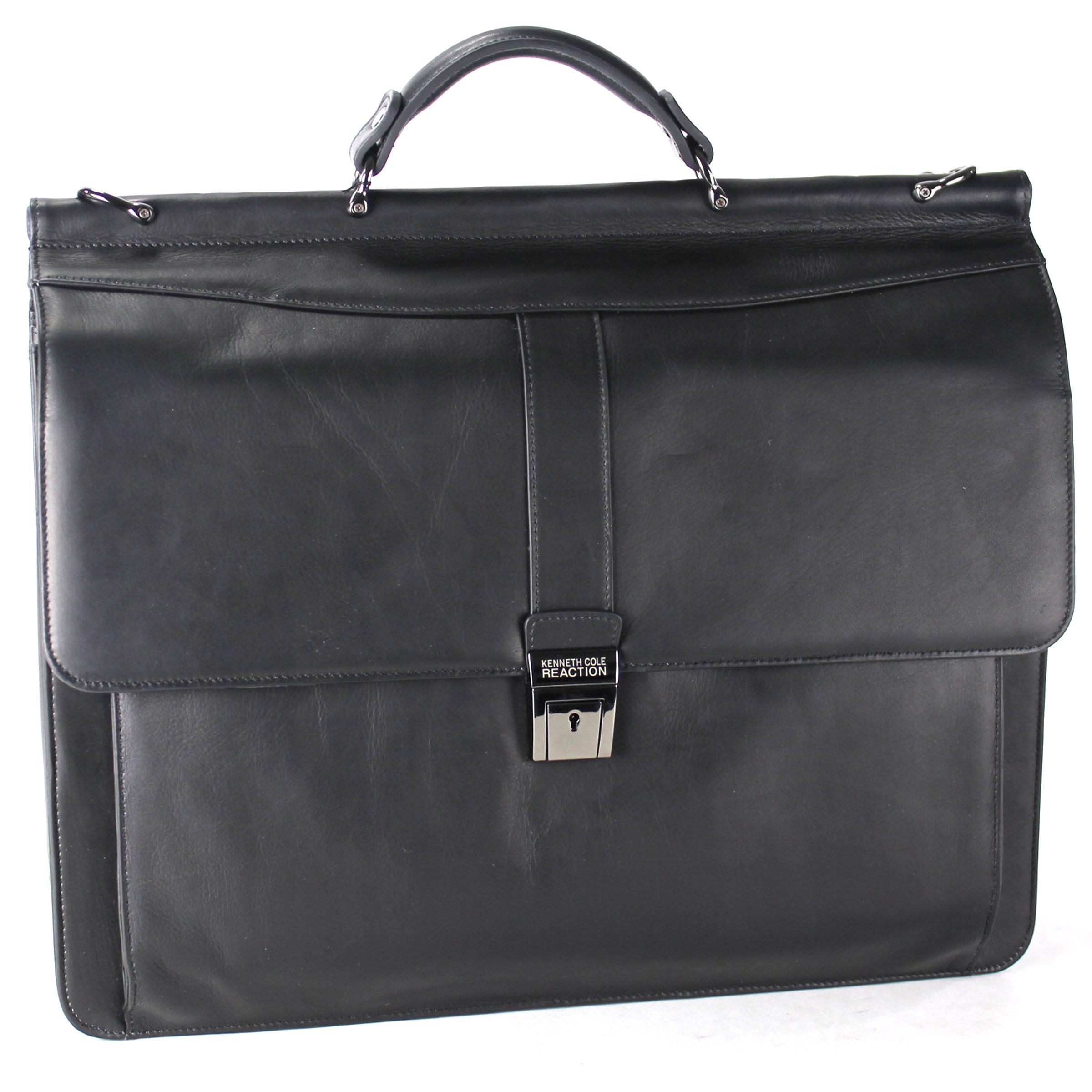 Kenneth Cole Reaction Rod Light Colombian Dowelrod Computer Ipad Business Case, Black, One Size by Kenneth Cole REACTION