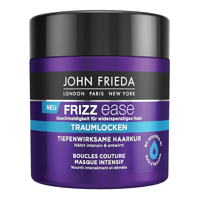 John Frieda Frizz Ease Traumlocken Haarkur - 2er Pack (2x 150 ml) - tiefenwirksam - nährt intensiv und entwirrt - für lockiges Haar - mit Abyssinian-Öl 24830