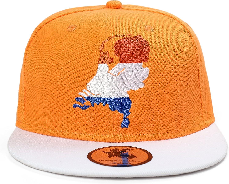 Holland orange Baseball Kappe Snapback NEU Underground Kulture Holland