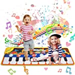 Music Mat Toy for Kids Toddlers Age 3-8 Years Old, 19