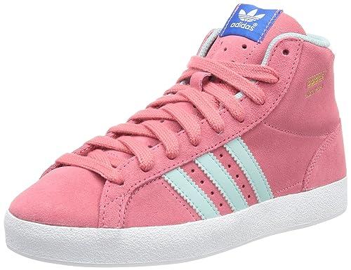hot sale online dc7e2 81a68 adidas Originals BASKET PROFI K, Sneaker bambina, Rosa (Pink (BLIPNKCLEGR