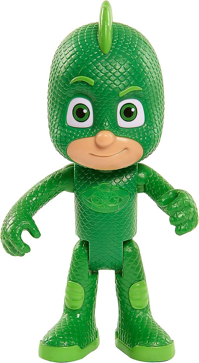PJ Masks Bandai 24858 - Súper Figura con Voz, Gekko, Verde, Versión Española: Amazon.es: Juguetes y juegos