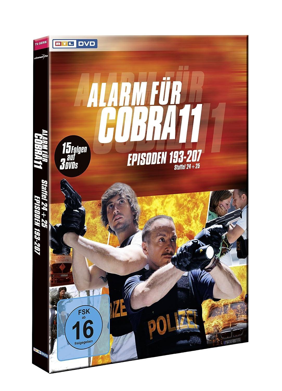 Alarm für Cobra 11 Staffel 24 25 [3 DVDs] Amazon Erdogan Atalay Tom Beck Charlotte Schwab Gottfried Vollmer Dietmar Huhn Daniela Wutte