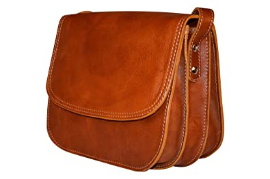 6cb57e30d31b Handmade Genuine Italian Leather Saddle Bag Style