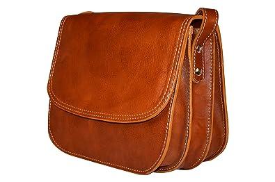 7862fc658d46 Handmade Genuine Italian Leather Saddle Bag Style