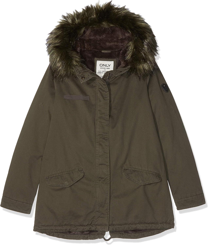 Only Onljosephine Fur Parka CC Otw Mujer