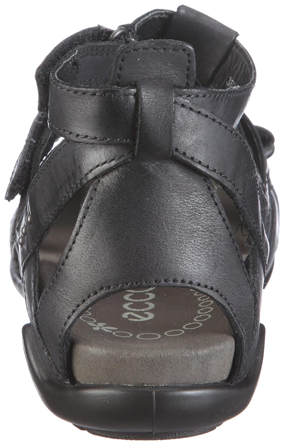 ECCO G.S.I. Girl's Sandal BlackBlack UK 1 Junior: Amazon.co