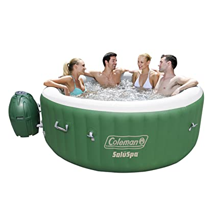 Amazoncom Coleman SaluSpa Inflatable Hot Tub Garden Outdoor