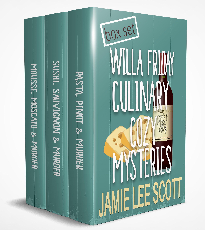 Willa Friday Culinary Cozy Box Set of 3 (Willa Friday Food & Wine Mystery)
