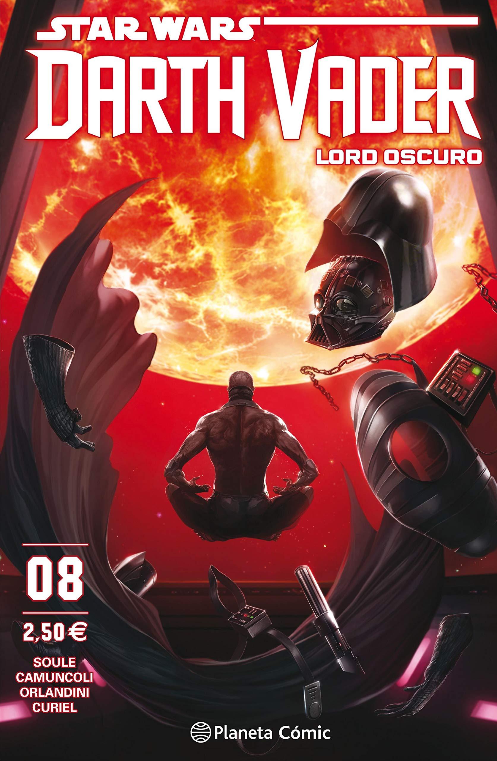 Star Wars Darth Vader Lord Oscuro nº 08 (Star Wars: Cómics Grapa Marvel) Tapa blanda – 27 nov 2018 Charles Soule Giuseppe Camuncoli Planeta DeAgostini Cómics 8491469087