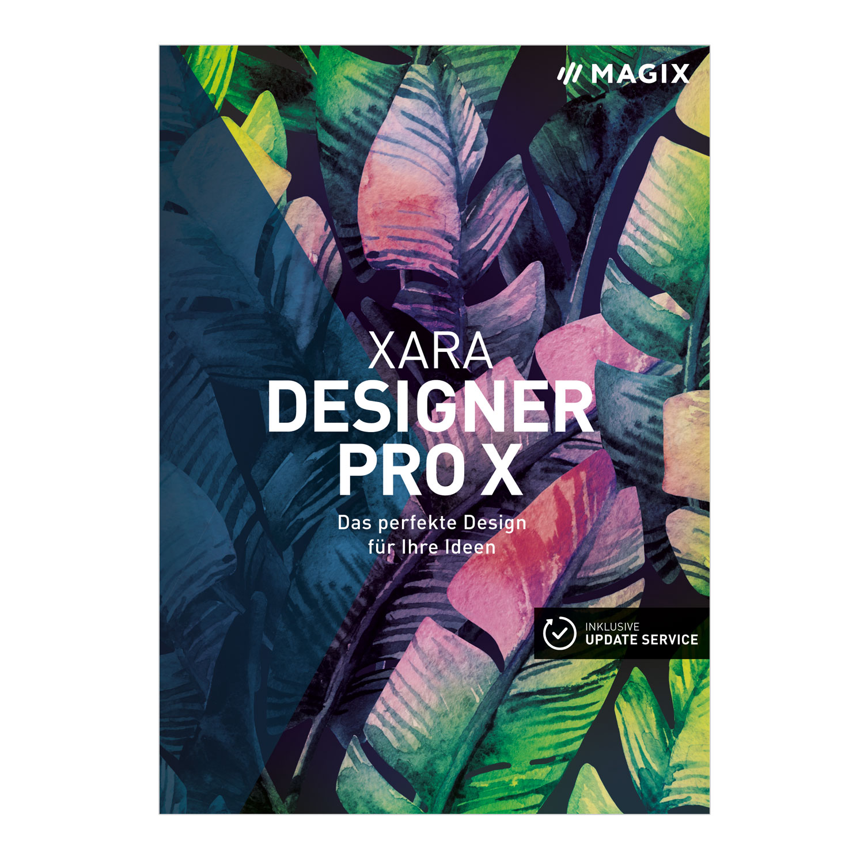 Xara Designer Pro X– Version 15 – Webdesign, Bildbearbeitung ...