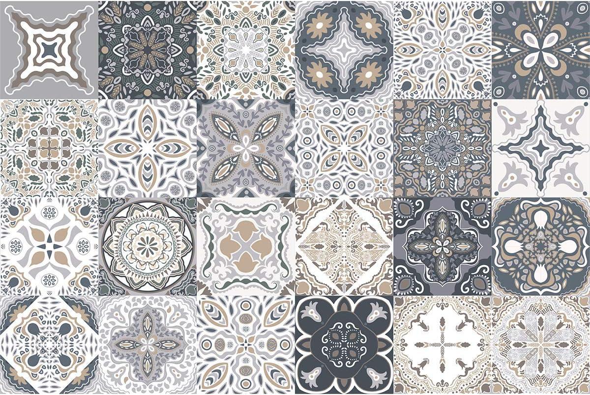 Ambiance-Live col- tiles-RJ-A109/_15x15cm Sticker Decorativi 15 x 15 cm Acrilico nello