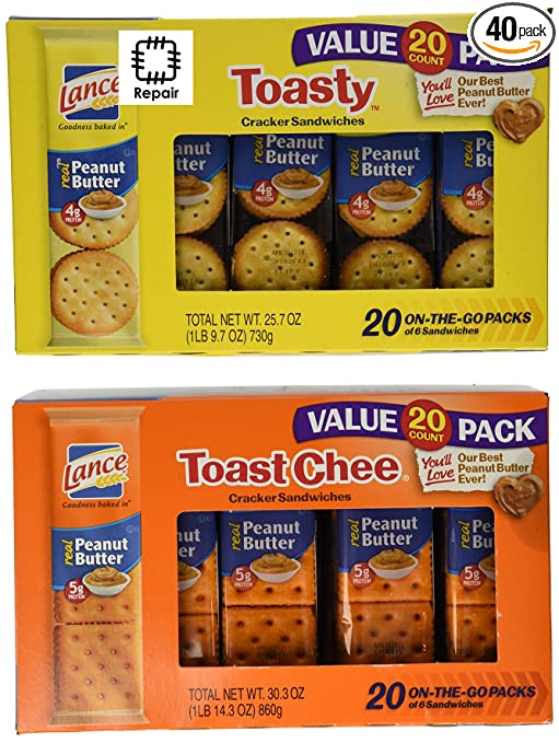Lance 40-Pack Sandwich Cracker...
