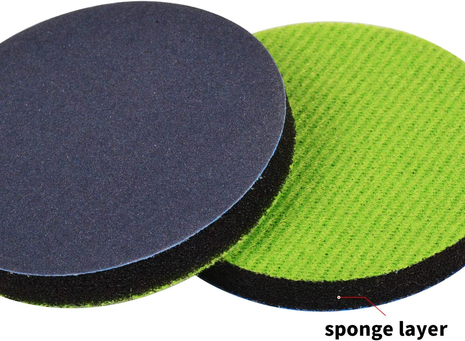 Fine Grade Sanding Disc for Glass Scratch Removal 3 Inch Pack of 5