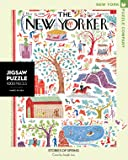 New York Puzzle Company - New Yorker Stories of Spring - 1000 Piece Jigsaw Puzzle
