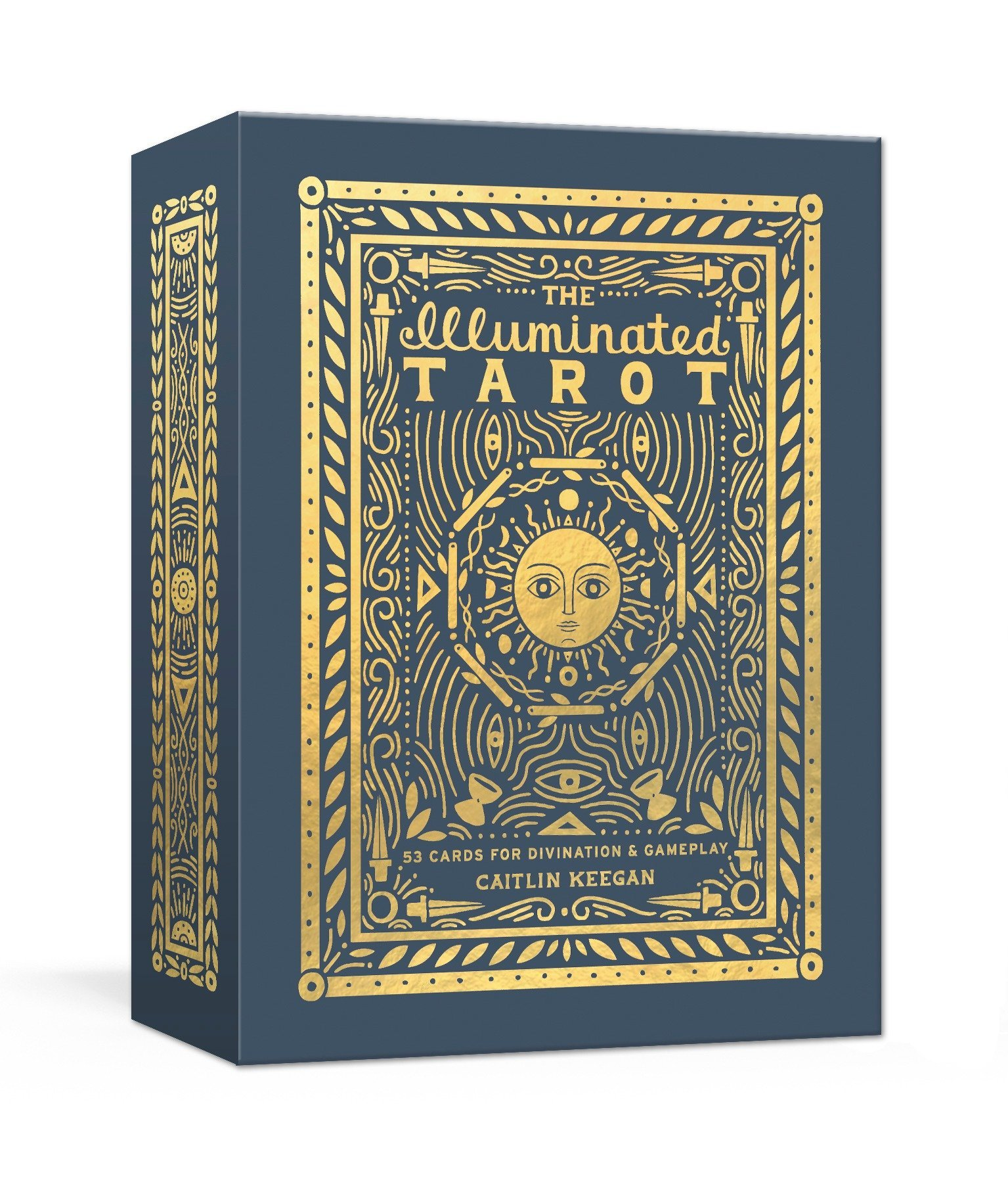 The Illuminated Tarot: 53 Cards for Divination & Gameplay: Amazon co
