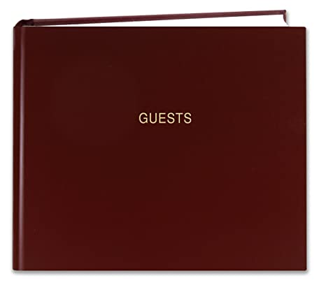 amazon com bookfactory guest book 120 pages guest sign in book