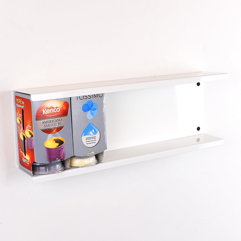 /Blanc TASSIMO Bo/îte de 6//48/T-Disc support support mural Pod de stockage de support de Distributeur/