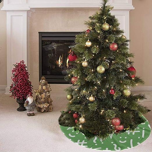 Falda de árbol de Navidad Creativo Moda Símbolo matemático ...