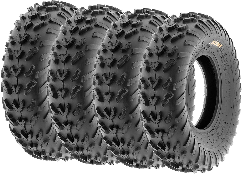 SunF 20x11-9 ATV UTV Tire 20x11x9  Rear Replacement 6 Ply A035 Tubeless