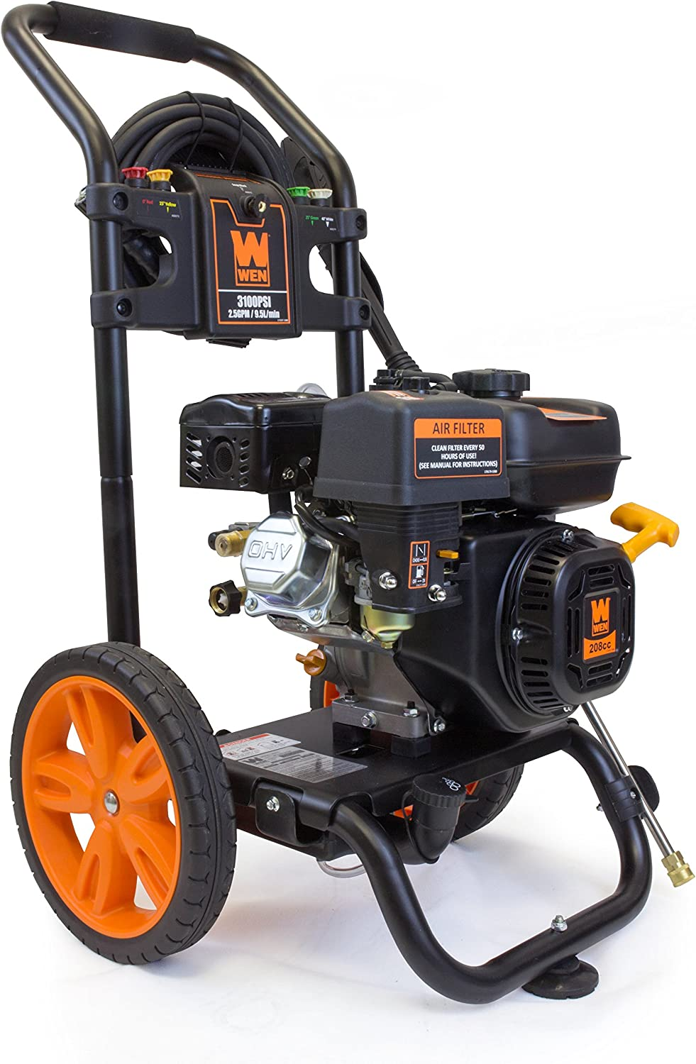 wen pw3100 3100 gas pressure washer